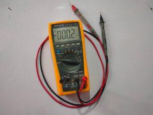 repairing multimeter