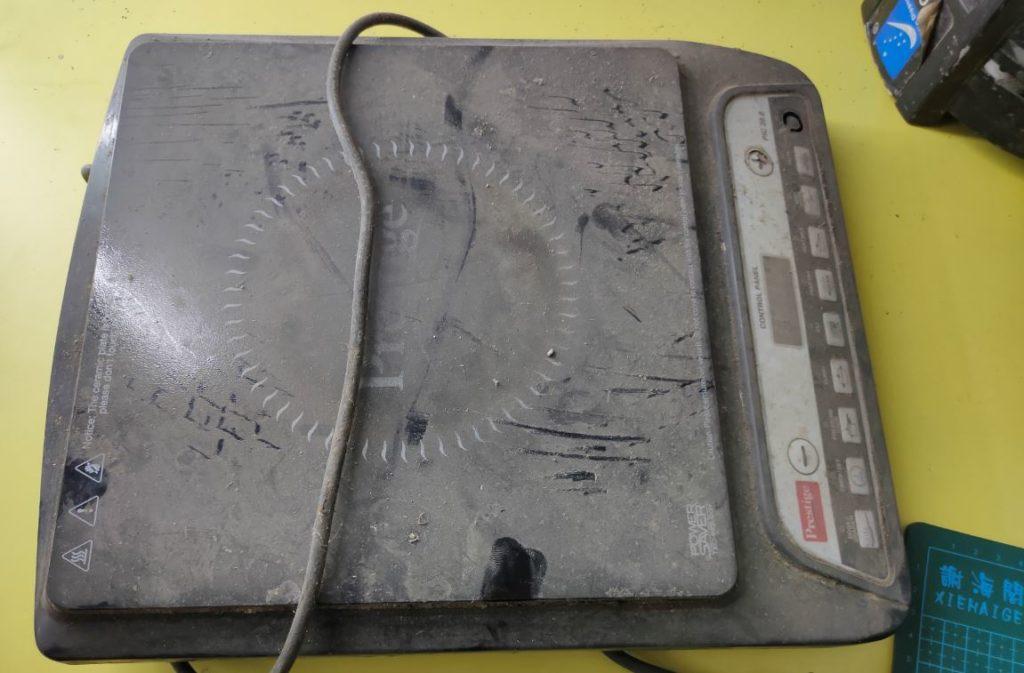 Repair electric cooker