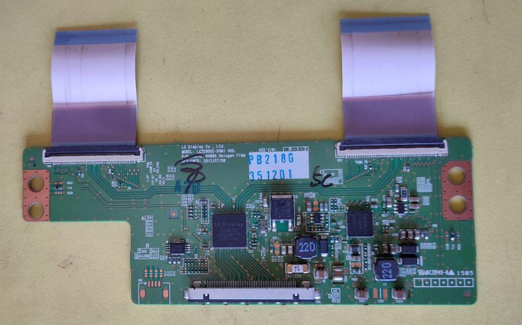 Tcon board repairing