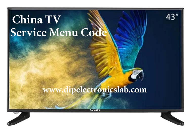 China tv service menu