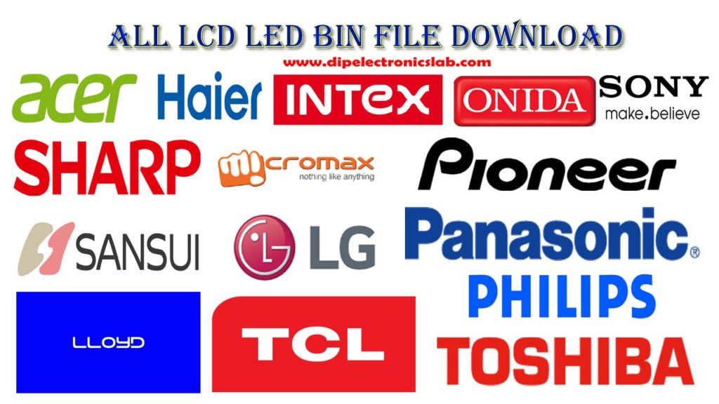 all company lcd led software download