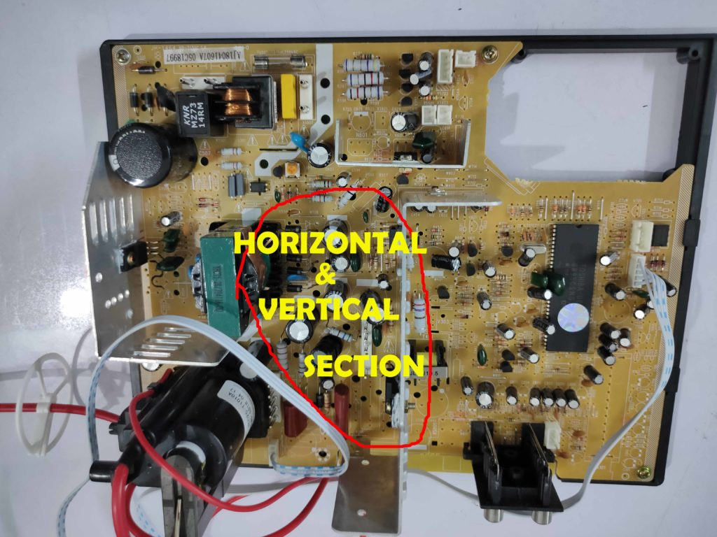 CRT TV Motherboard All Section Discussion