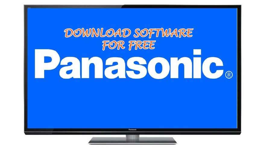 panasonic tv software download