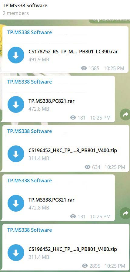 TP.MS338 All Board Software