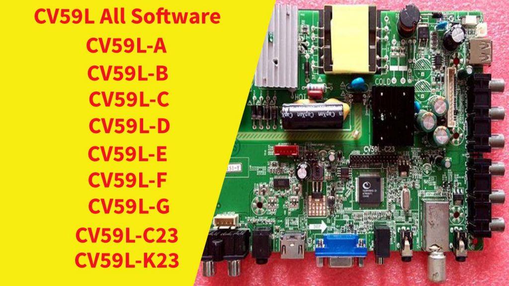cv59l all software